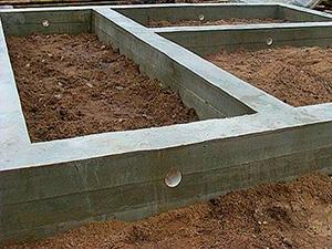 Как построить фундамент для дома своими руками