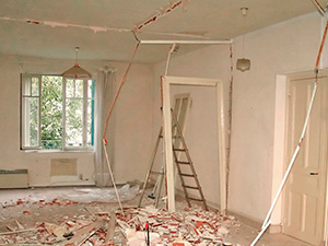 Подготовка к ремонту,  совет строителя