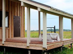 Как сделать пристрой к деревянному дому?