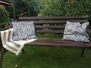 Как сделать садовую скамейку?